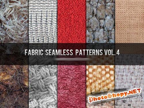 Fabric Seamless Photoshop Patterns Vol. 4