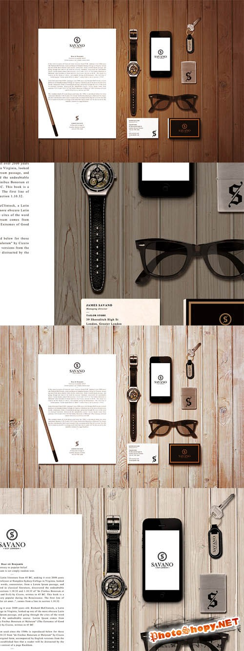 Mock up Template - Corporate Stationery