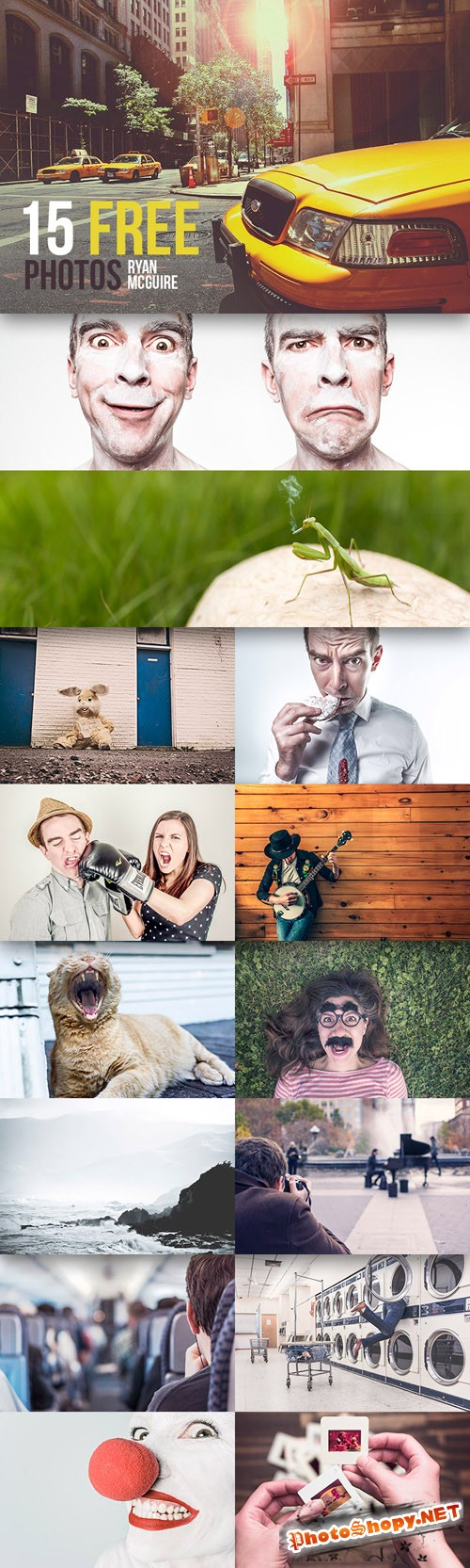 People, Places and Things High-Resolution Photos Bundle