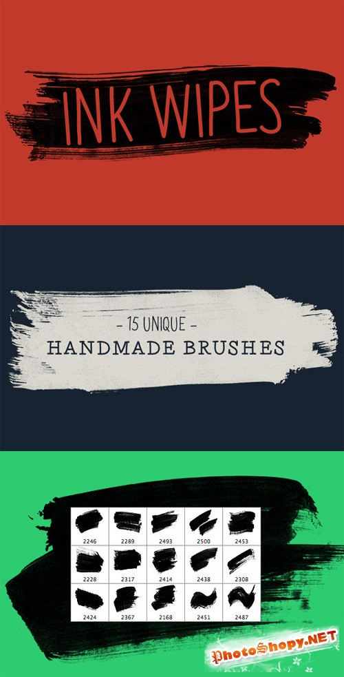 Photoshop Brush Ink Swipe