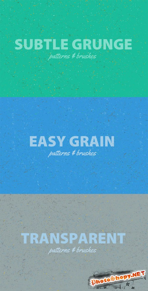 Easy Grain Photoshop Brushes