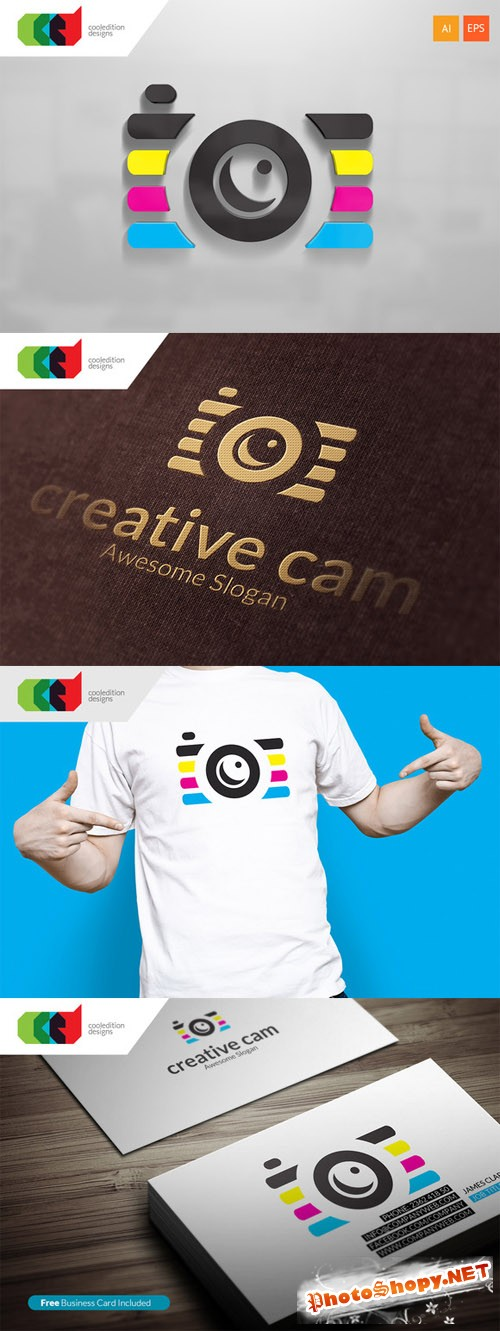 Creative Cam - Logo plus Business Card