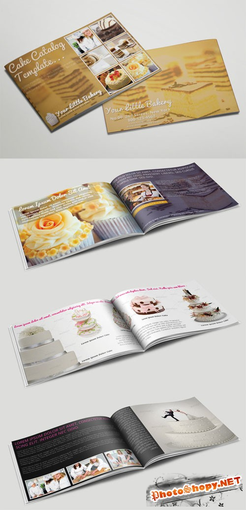 CreativeMarket - Catering Service Catalog or Brochure 18244