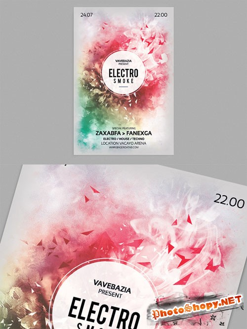 Creativemarket - Minimal Abstract Flyer Templates 11905