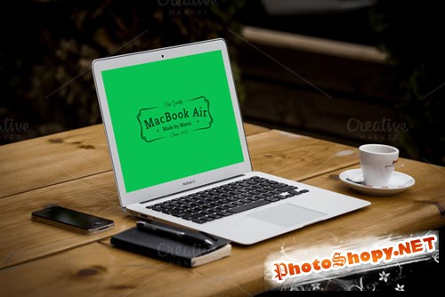CreativeMarket 89249 - Mockup for MacBook Air