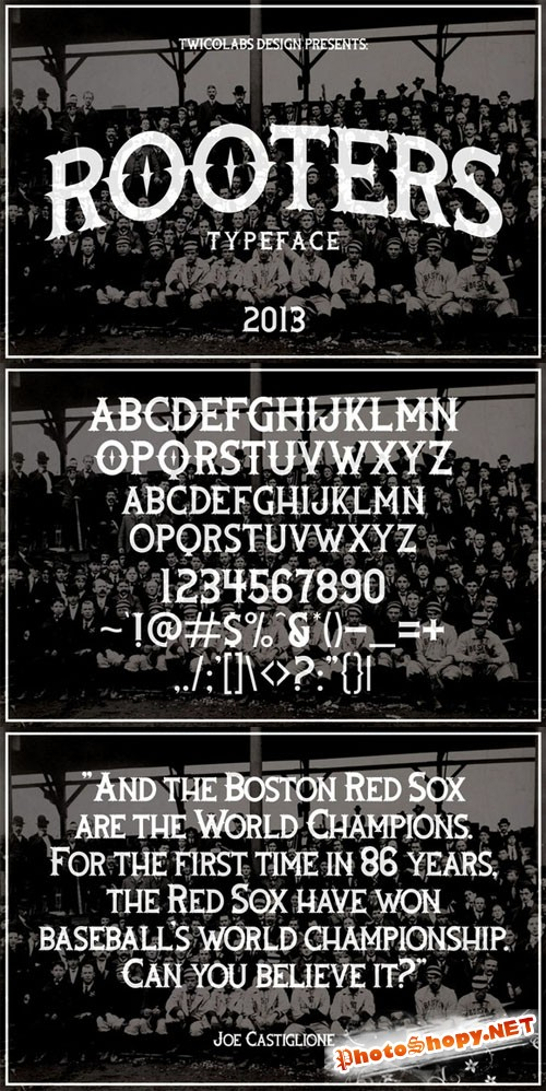 CreativeMarket - Rooters Font