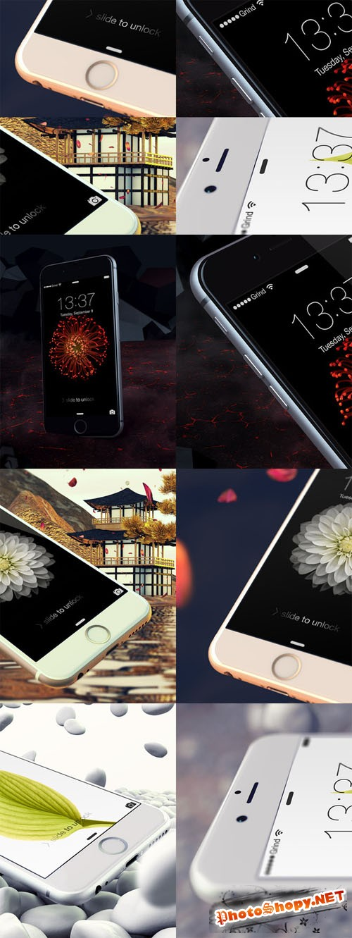 Epic iPhone 6 Templates