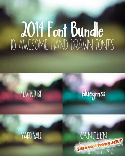 CreativeMarket - 2014 Font Bundle