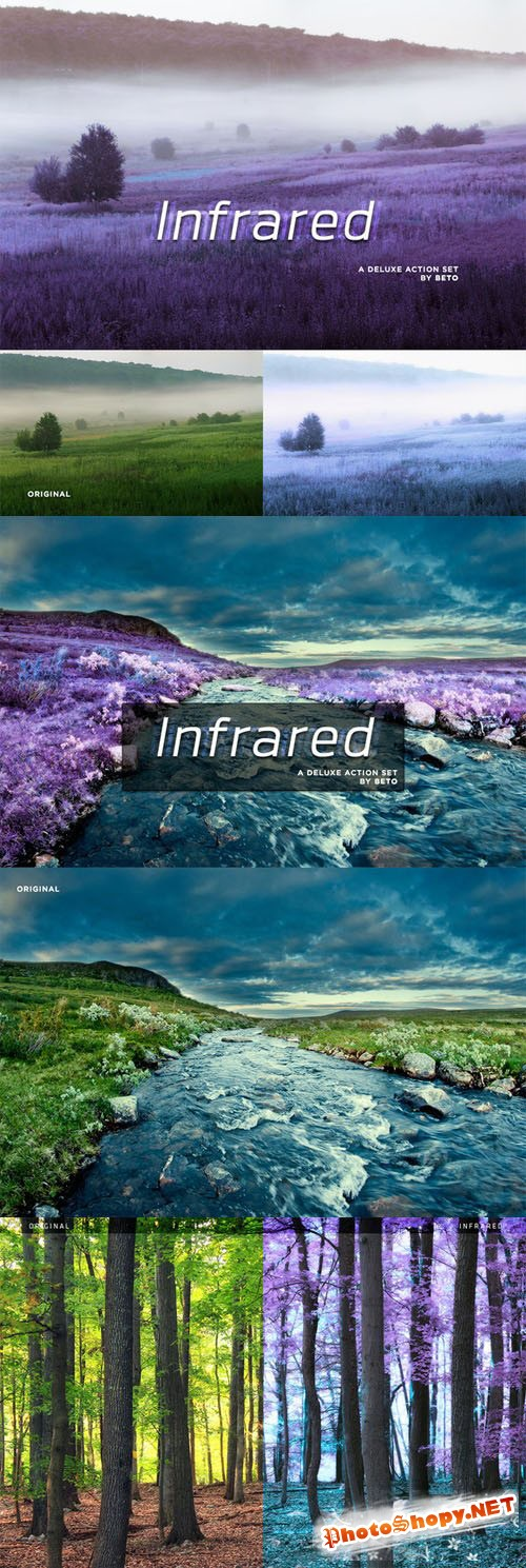 Infrared Action - CreativeMarket