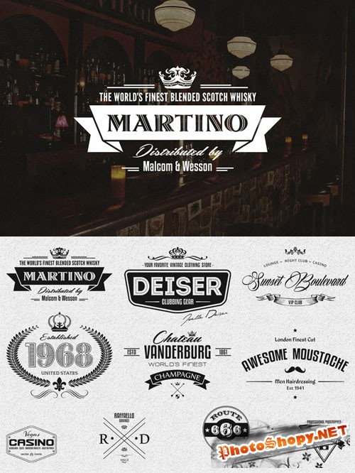 10 Retro Logo Badges And Labels - CreativeMarket