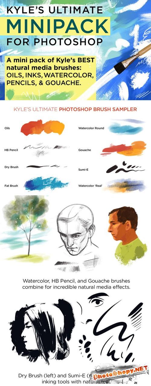 CreativeMarket - Kyle's Photoshop Brush Mini Pack