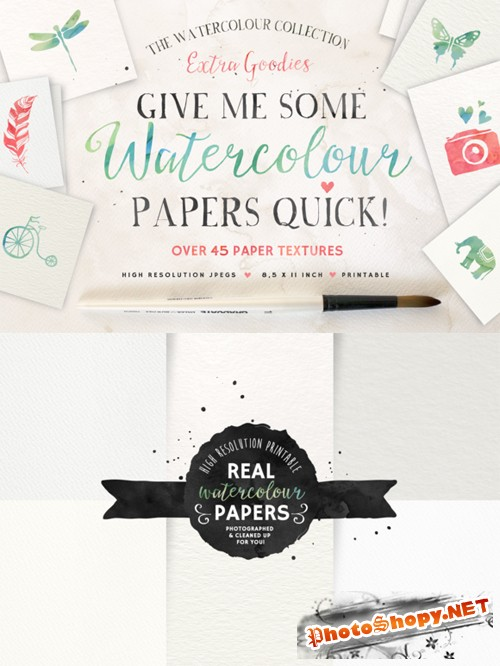 Give me some Papers Quick - CreativeMarket