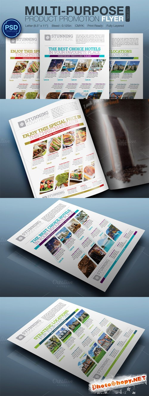 CreativeMarket - Multipurpose Product Promotion Flyer