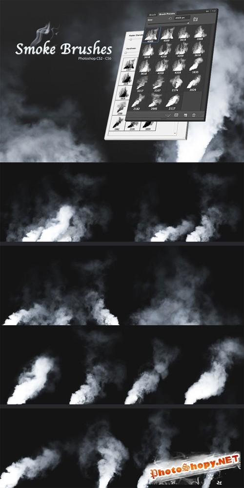 Smoke Brushes - CreativeMarket