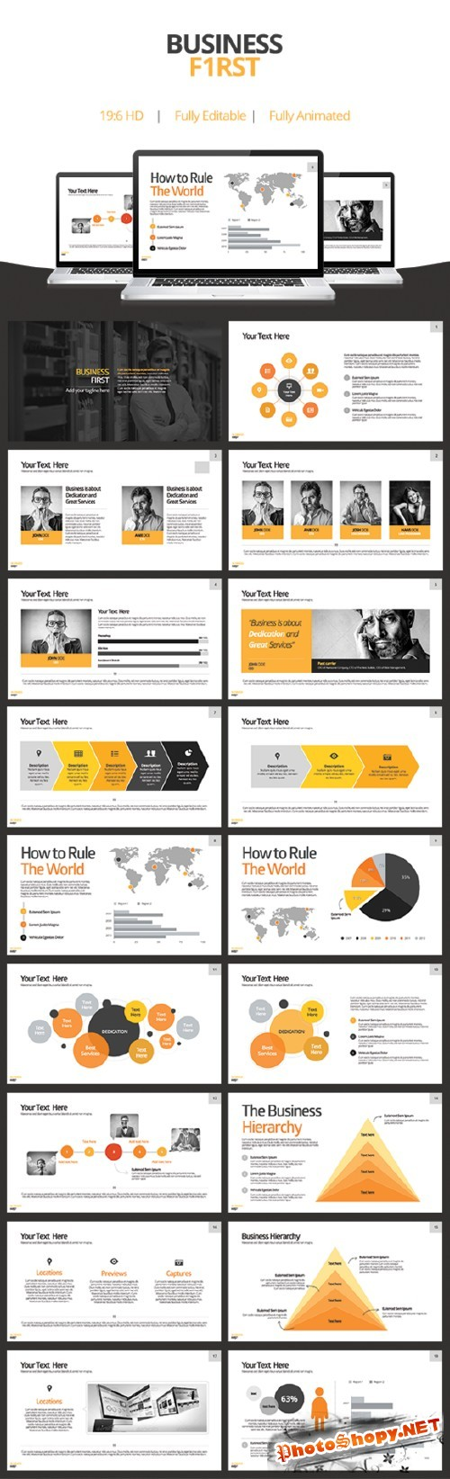 Business First - Keynote Template - CreativeMarket