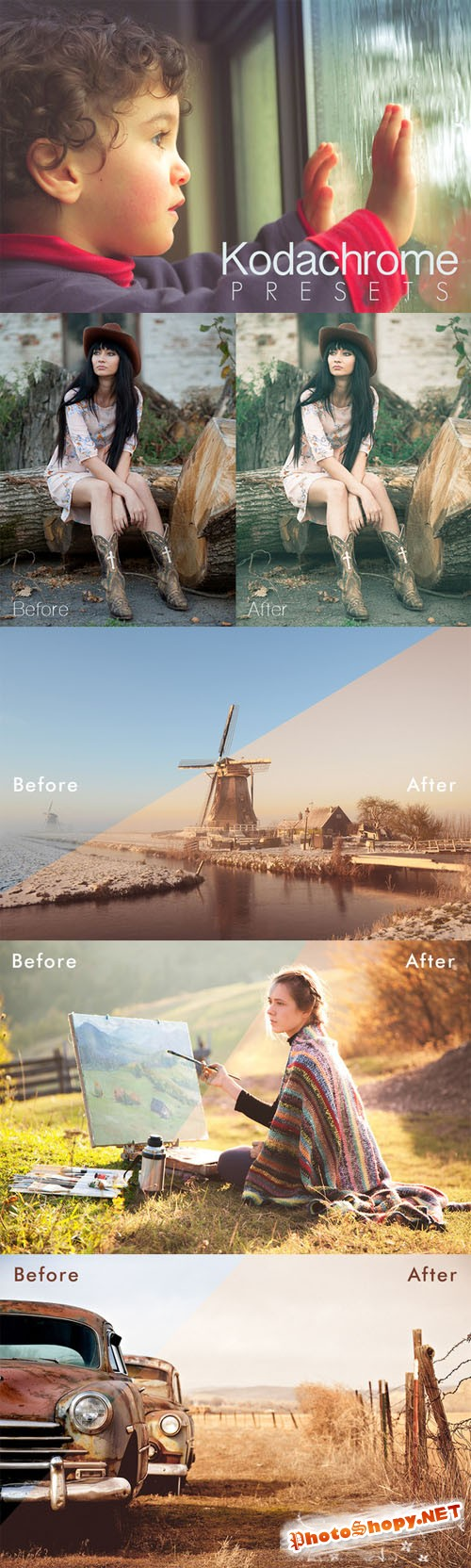 Kodachrome Lightroom Presets - CreativeMarket