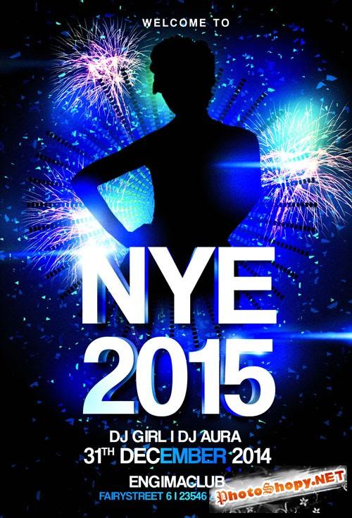 Flyer Template - New Years Eve Party