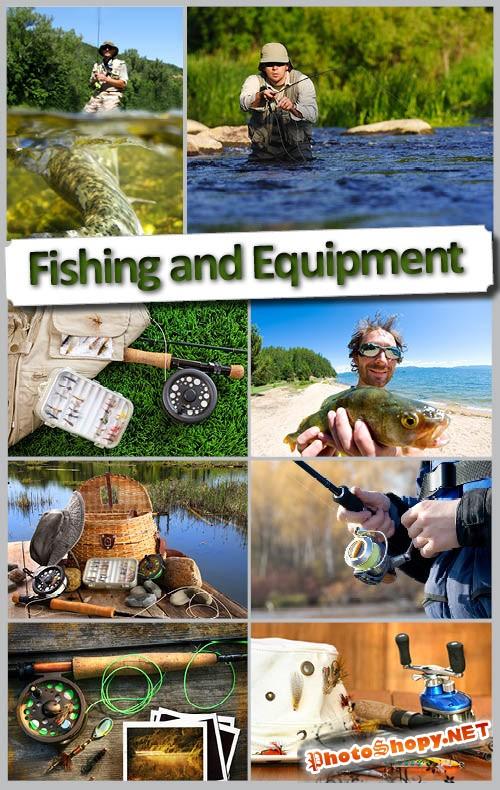Высококачественный растровый клипарт рыбалка и снасти  | Fishing and Equipment HQ Photo