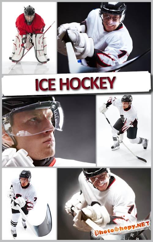 Шыкарный растровый фотосток хокей на льду | Ice Hockey