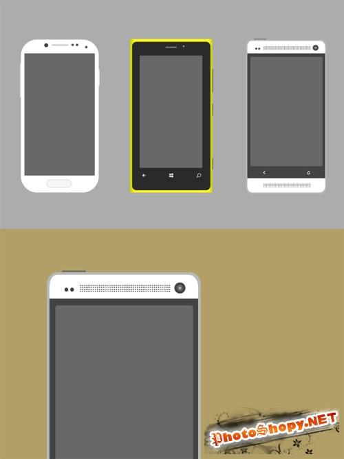 Smartphone Mockup Pack - Creativemarket 87682