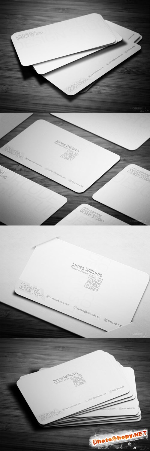White Dream Business Card