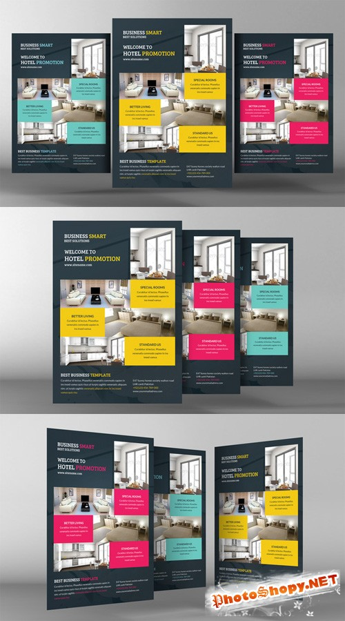 Hotel Promotion Flyer Template
