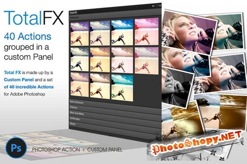 Total FX - 40 Photographic Actions - Creativemarket 93333