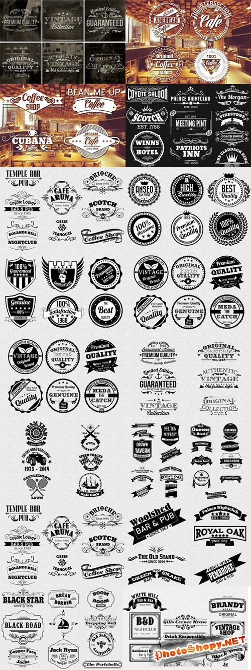 116 Labels and Badges Bundle - CM 53149