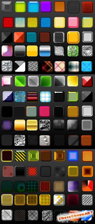 100+ Photoshop Layer Styles - Creativemarket 4452