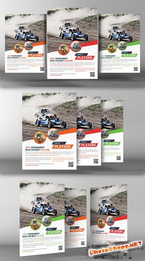 Racing School Flyer Template - CM 94095