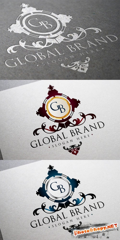 Global Brand Logo Template - CM 11885