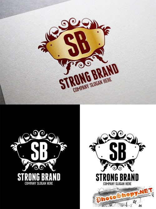 Strong Brand Logo Template - CM 9705