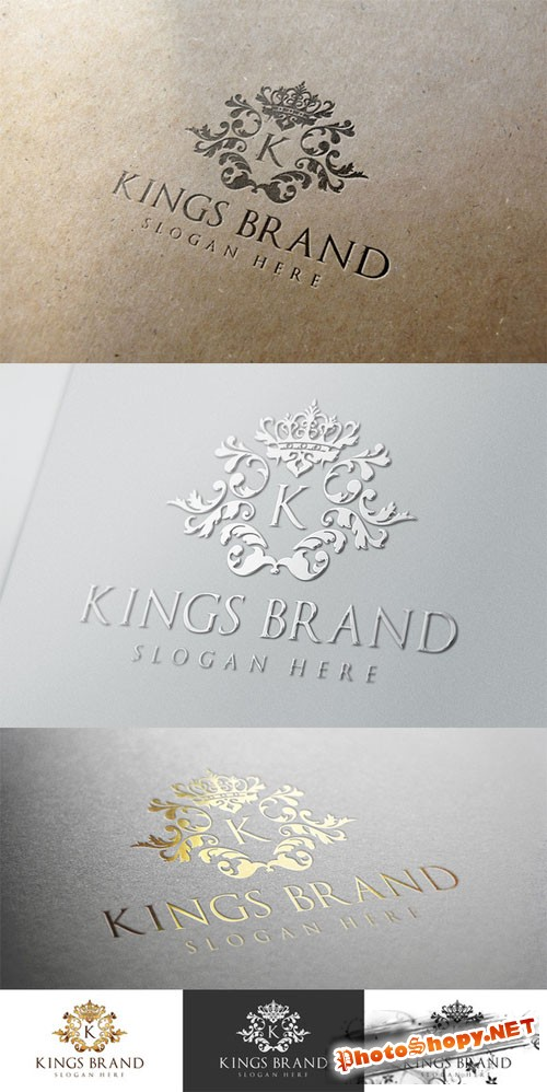 Kings Brand Logo Template - CM 15333