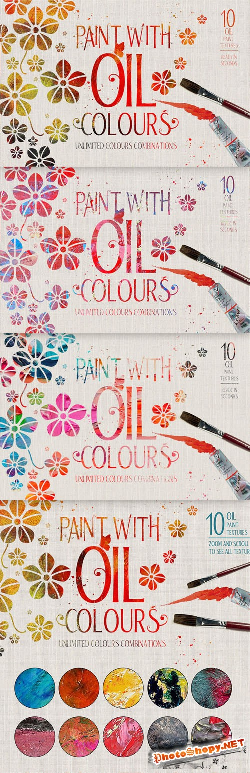 Oil Paint Effect - CM 102085