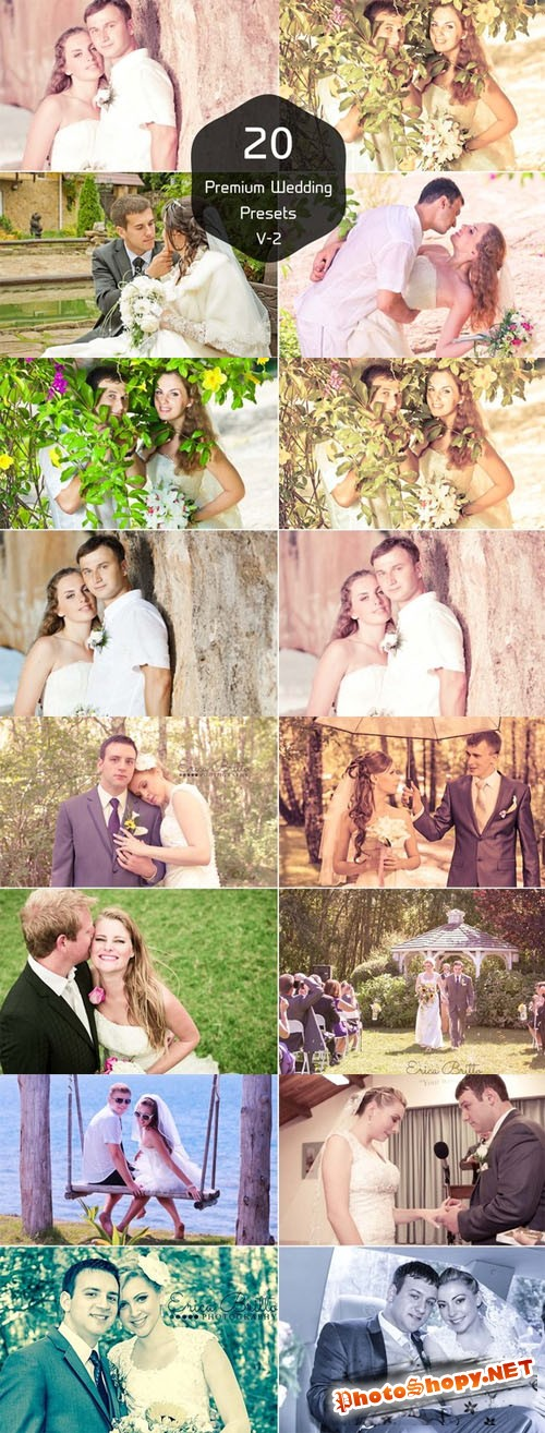 20 Wedding Photography Lightroom V-2 - CM 44582