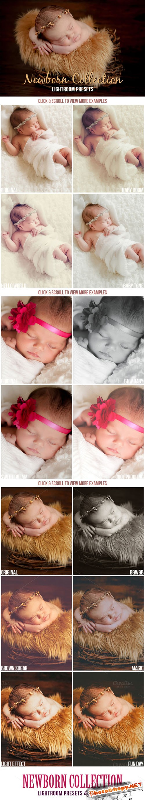 Newborn Baby Lightroom Presets - CM 143740