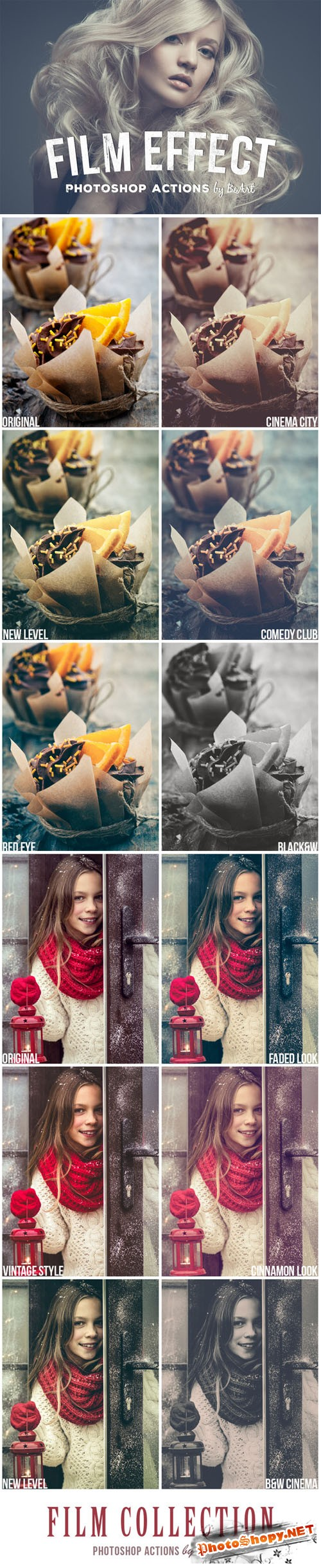 Film Effect Photoshop Actions - CM 135704