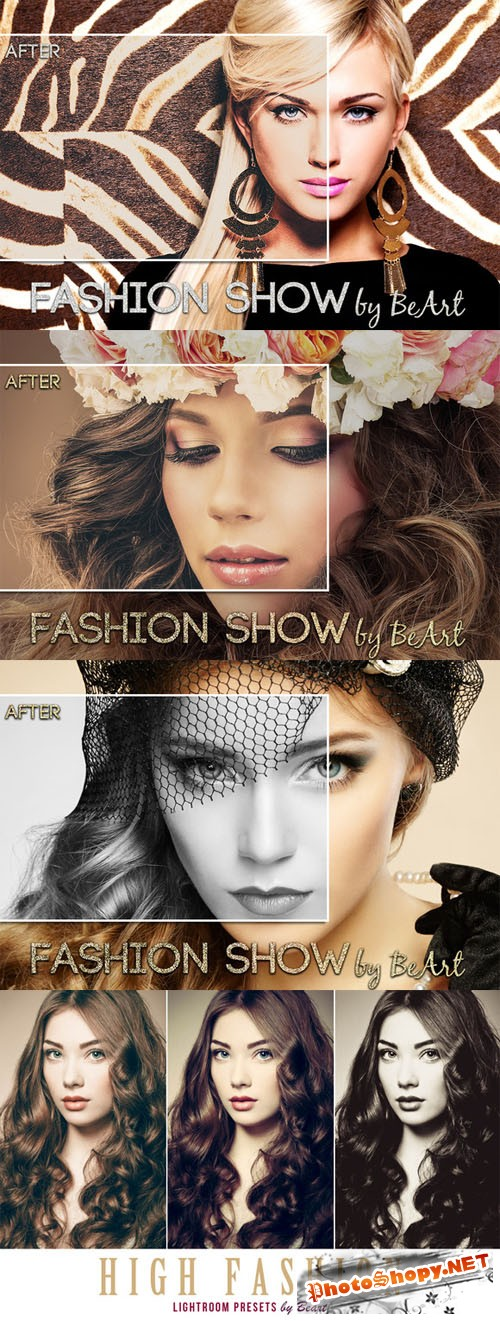 Fashion Lightroom Presets Collection - CM 123346