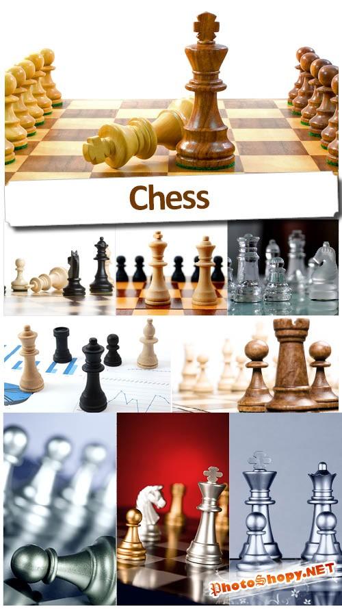 Шахматные фигуры - Высококачественный растровый клипарт
