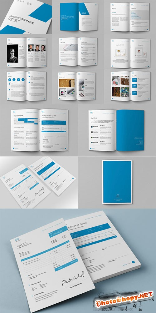 Clean Proposal & Brief Template - CM 76577