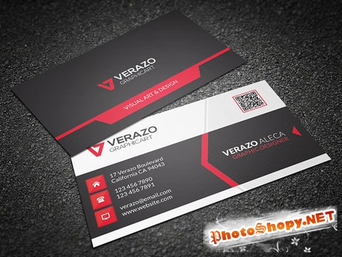 Modern Corporate Business Card - CM 214255