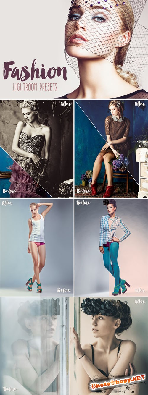 Creativemarket - Fashion Lightroom Presets Collection