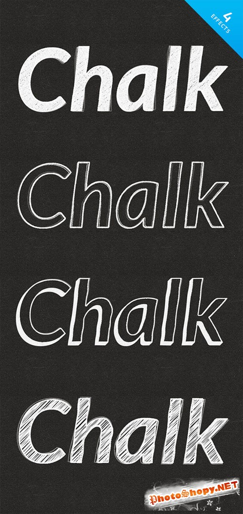 Chalk Text Effects - CM 88765