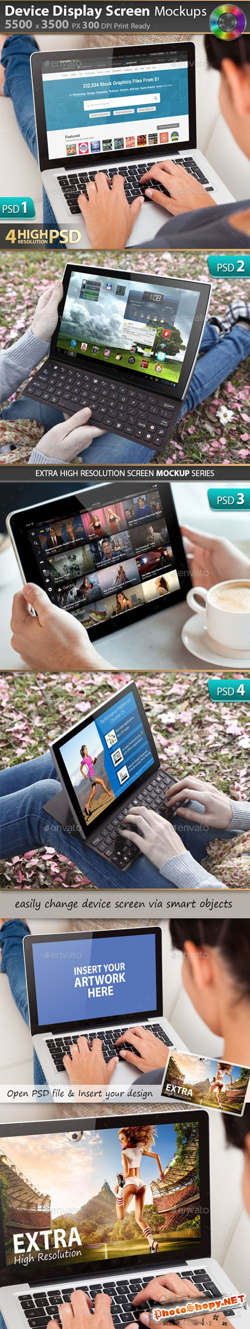 Responsive Display Device Mockup V1 - Graphicriver 10198143