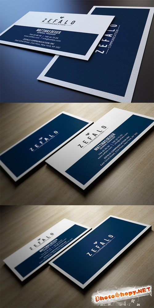 Creativemarket Clear Simple Business Card 93989