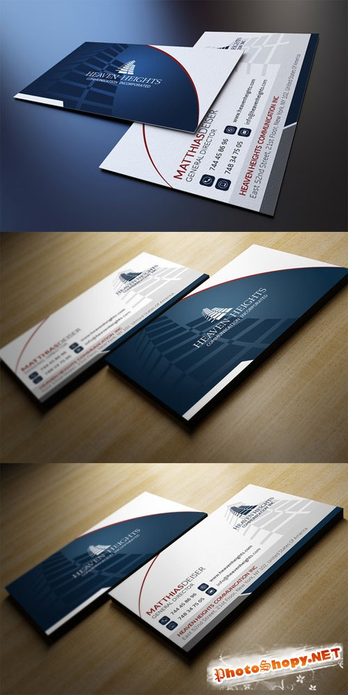 Creativemarket Corporate Business Card 82568
