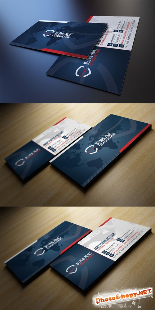 Creativemarket Corporate Business Card 78261