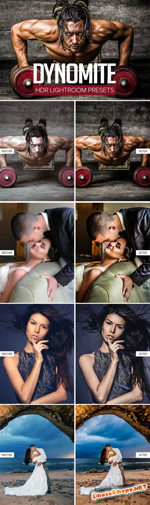 Creativemarket - HDR Lightroom Presets 147951