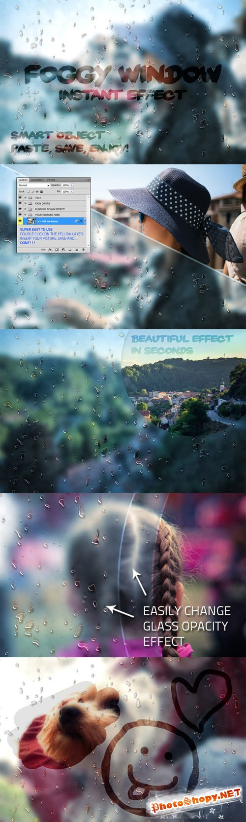 Creativemarket Foggy Window Instant Effect 52081