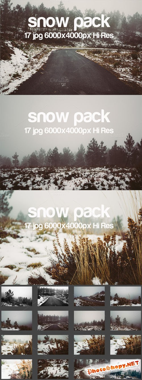 Creativemarket Snow Pack 157284